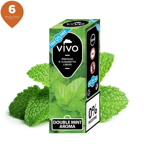 Lichid tigara electronica VIVO 10 ml Double Mint 6 mg/ml