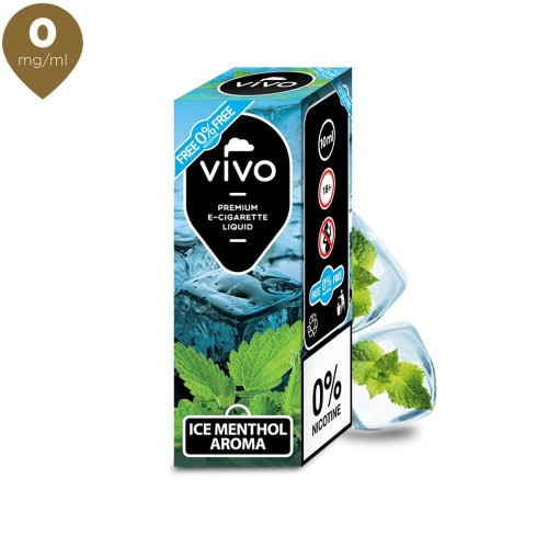 Lichid tigara electronica VIVO 10 ml Ice Menthol 0 mg/ml