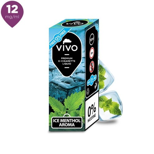 Lichid tigara electronica VIVO 10 ml Ice Menthol 12 mg/ml
