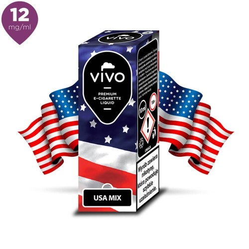 Lichid tigara electronica VIVO 10 ml USA MIX 12 mg/ml