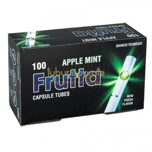 Tuburi Tigari Frutta Click Apple Mint 100