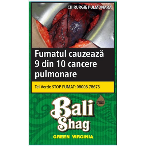 Tutun Bali Shag Green Virginia 40g