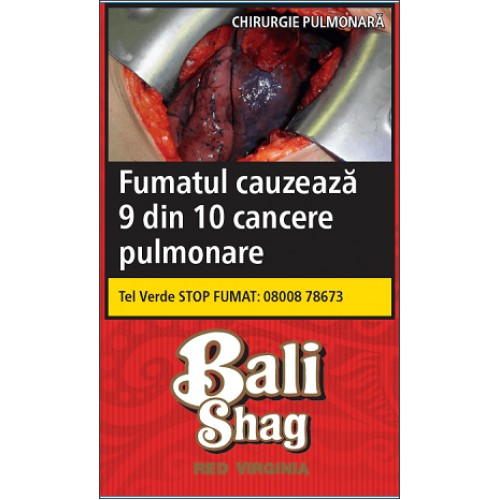 Tutun Bali Shag Red Virginia 40g