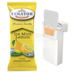 Card aromat tigari Senator Mint Lemon