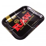 13922 Rolling Tray RAW BLACK (34 x 27,5 cm)