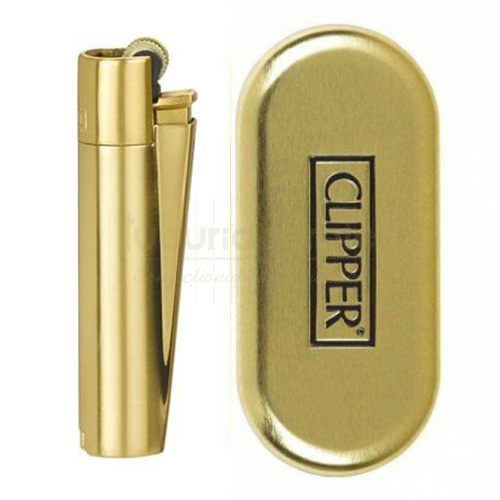 Bricheta Clipper 8 Gold (metalica)