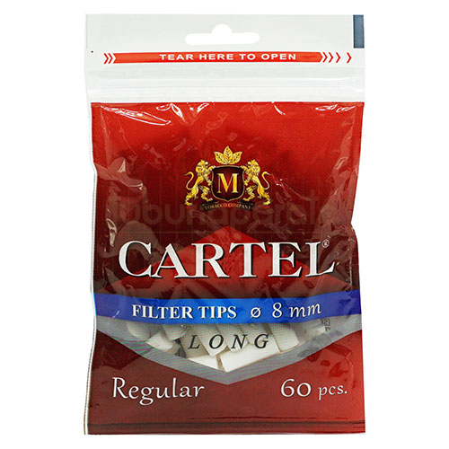 Filtre Tigari Cartel Regular Long 8/22 mm