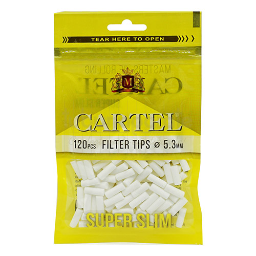 Filtre Tigari Cartel Extra Slim 5,3/15 mm