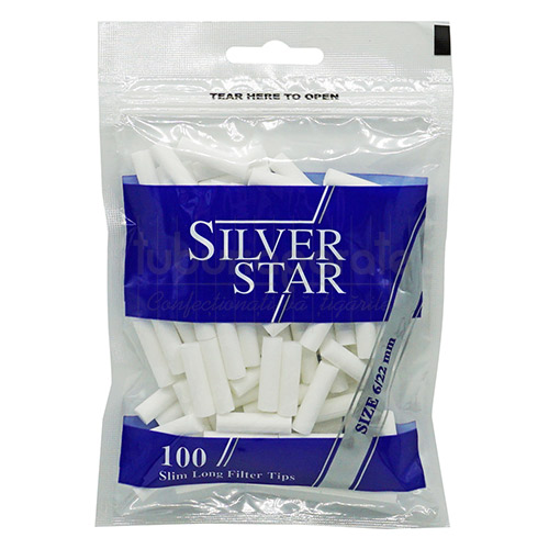 Filtre Tigari Silver Star Slim Long 6/22 mm