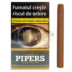 Tigari de Foi Pipers Gold (vanilie) 10