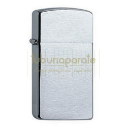 160810 Bricheta Zippo Chrome Brush Slim