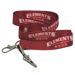 13361 Elements Lanyard Red